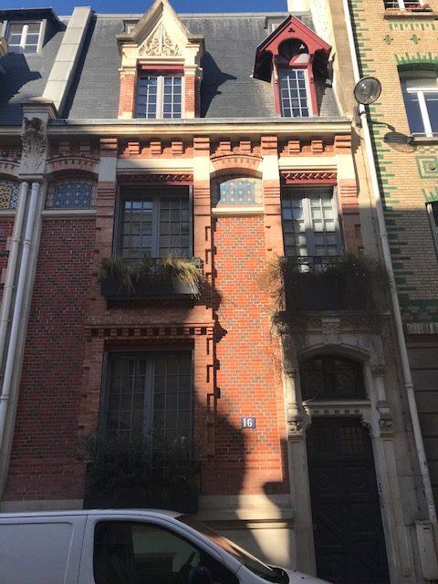 Ravalement Hotel particulier Rue Eugene Flachat